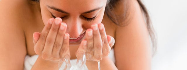 Exfolier la peau du visage