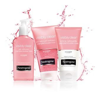 Visibly Clear® efficacité pamplemousse rose