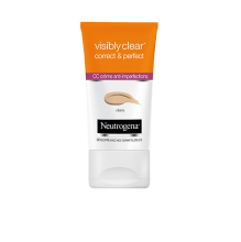 visibly clear® Correct & Perfect : CC crème anti imperfections peaux claires