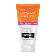 visibly clear® Correct & Perfect : exfoliant unificateur de teint