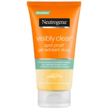 Neutrogena® Visibly Clear® spot proof gel exfoliant doux
