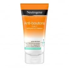 Neutrogena® Anti-boutons 2-en-1: Nettoyant et Masque